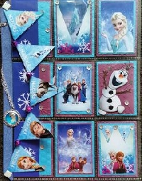 Frozen Pocket letter theme  ! (Newbie Welcome)
