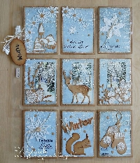 CPG-Mini Pocket Letter-Winter Theme-US Only