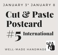 Cut & Paste Postcard - International #5