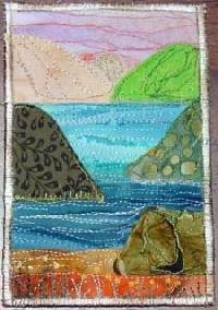 NT: Fabric Postcard