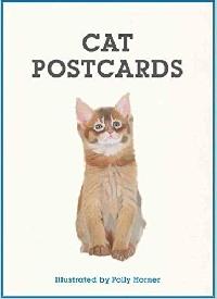 Cat illustrative postcard swap #1