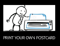 Print Your Own Postcard #2 - USA/Canada