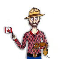 Canada: Something Canadian Postcard