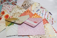 Make an Envelope and Add A Surprise(international)