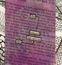 Blackout Poetry ATC - Spring 2020