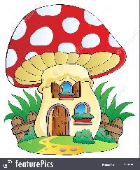 Mushroom House ATC (HD/HP)