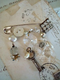 VC: Embellished Safety Pin