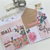 Mini floral flipbook #1
