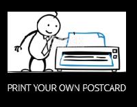 Print Your Own Postcard #6 - USA/Canada
