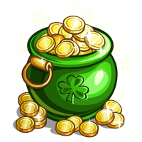 St. Patrick's Day - GOLD ENVIE
