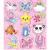 I love stickers¡¡ #1  (pink envelope)