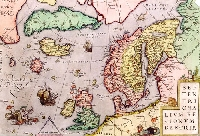 VINTAGE/ANTIQUE MAPS POSTCARDS