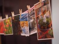 Local designer postcard swap