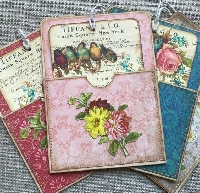 VC:  Birds & Blooms Pocket with Card