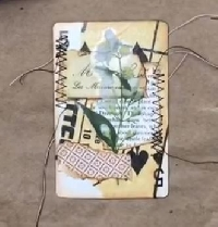 YTPC:  Altered Playing Card Journal Spots