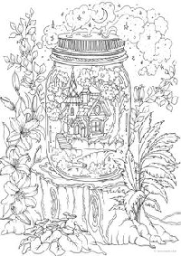 PL # 26 Adult Colouring Pages