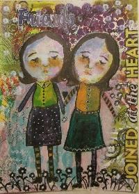 Handmade Art Journal Go Round R50