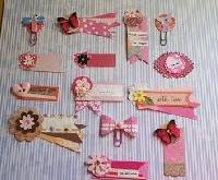 20 handmade embellishments of fun!