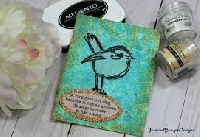 Spring wishes handmade card