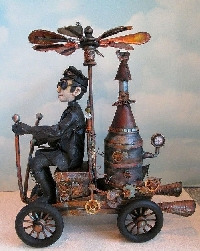 GAG: Steampunk I - Transportation