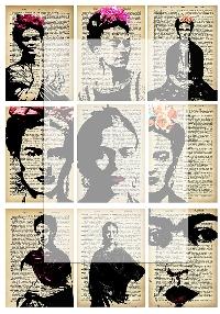 Frida Kahlo ATC