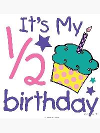 Half Birthday Giveaway!!