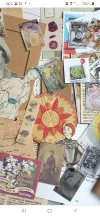 Ephemera Destash #1- 1 Forever Stamp