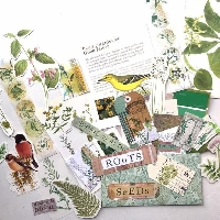 BOTANICAL EPHEMERA SWAP #1