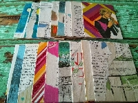 MMPC: Upcycled Collage ATC