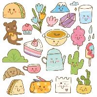 Cute Sticker Swap