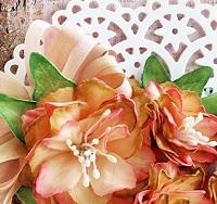 Flowers & Lace ATC