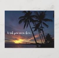 My pretend summer vacation postcard