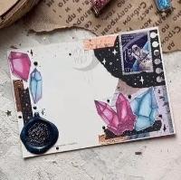 Decorated backside postcard #3