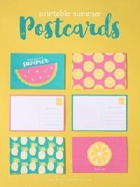 Summer Postcard Swap #2