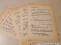 VES: Vintage Book Pages Swap #2