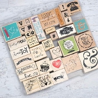 Wooden Rubber Stamps #2