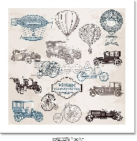 Vintage Transportation Ephemera!