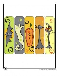 Bookmarks - Fall & Halloween - U.S.