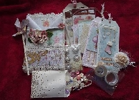 fully loaded envelope swap shabby chic theme