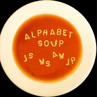 Postcard Alphabet Soup #3