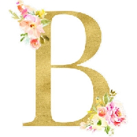 Postcards to represent the letter B