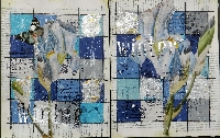 Handmade Art Journal Go Round R53