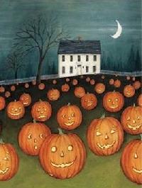 HD/HP ATC Halloween Series- Jack-O-Lantern (USA)
