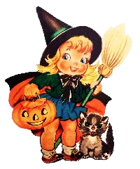 VS - Vintage Halloween ATC