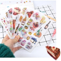 Gently-Used Sticker Sheet Swap
