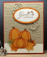 MissBrenda's Thanksgiving Card Swap #1