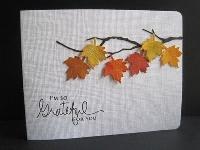 MissBrenda's Thanksgiving Card Swap #3