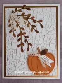 MissBrenda's Thanksgiving Card Swap #5