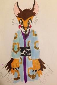 Hand Made/Hand Drawn Youkai/Obake ATC swap ~intl