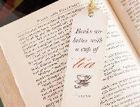 Handmade Bookmark & Tea Swap #4